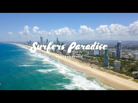 Surfers Paradise Kitesurfen - Kitereisen An Die Gold Coast Australiens By Kitereisen.TV