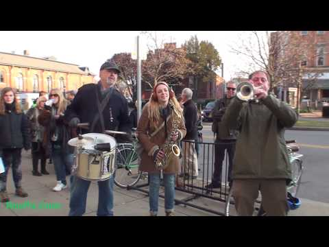 The BuddhaHood Drums & Horns @ Southwedge Holiday Parade 2017
