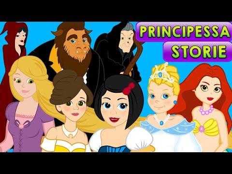 7 principesse storie per bambini cartoni animati fiabe e favole