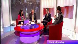 Mehdi Hasan vs Douglas Murray, on multiculturalism, on BBC2's Daily Politics show