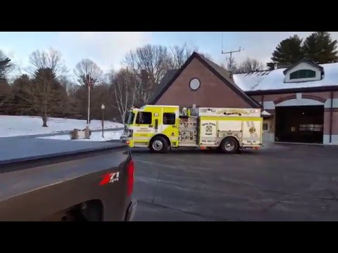 North Queensbury Vol. Fire responding to 2 calls at once! Audio included (1/5/16)