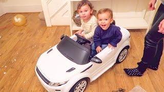 KIDS GET A REAL CAR!