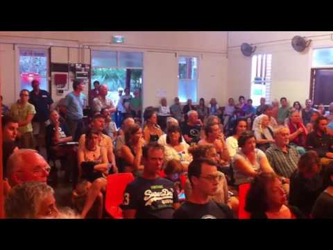 No Water Mining | Tweed Valley Community Meet | Uki Town Hall | 19th January 2017
