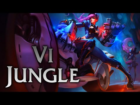 League of Legends   Officer Vi Jungle - Full Game Commentary