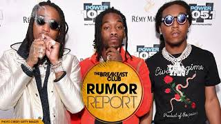 Migos Abruptly Walk Out Of Interview