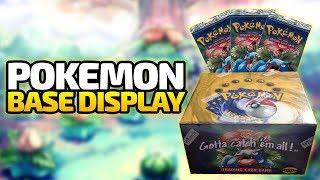 Pokemon Base Set Display (Bisaflor Booster) - Pokemon Trading Card Game - Deutsch German - Dhalucard