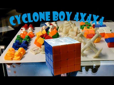 armado de cubo Rubik 4x4 Cyclone Boy