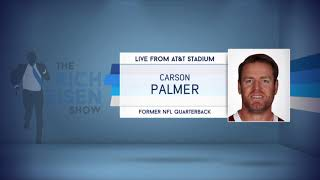 Retired QB Carson Palmer on Tom Brady's NFL Future | The Rich Eisen Show | 4/25/18