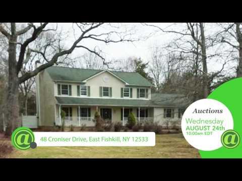 New York Home Auctions: Fishkill, NY and Goldens Bridge, NY