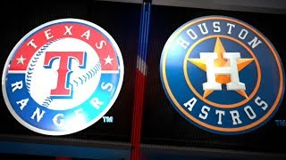 ESPN SUNDAY NIGHT BASEBALL: TEXAS RANGERS VS HOUSTON ASTROS 4/15/18. MLB THE SHOW 18