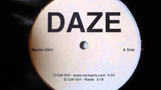 Daze - Call Girl