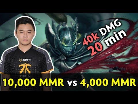 10k in 4k average MMR game — MidOne trying International Ranked