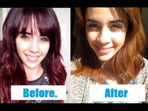 From Red To Caramel Blonde With Colorfix No Bleach YouTube