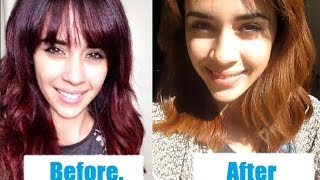 From Red to Caramel Blonde with Colorfix - No Bleach Thumbnail
