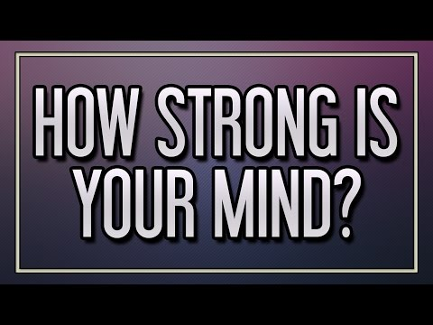 Thumbnail: How strong is your mind?