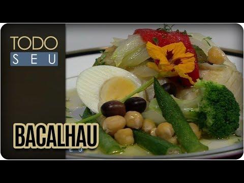 Bacalhau Com Grão De Bico E Quiabo | Chef Valdir Nunes - Todo Seu (14/12/17)