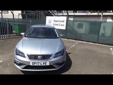 2017 SEAT Leon 5dr 1.4 TSI FR Technology (125 PS) For Sale at Crewe Seat