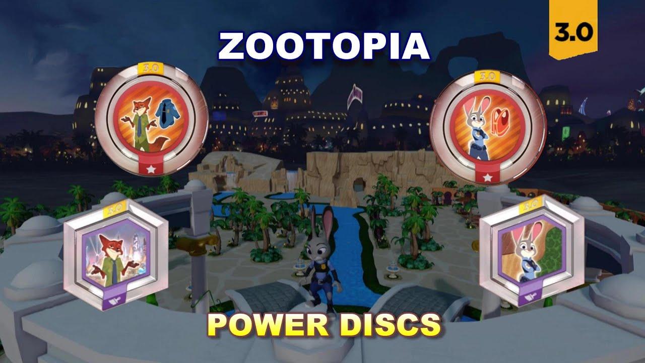 Download Disney Infinity 3.0 Zootopia Power Discs First Look