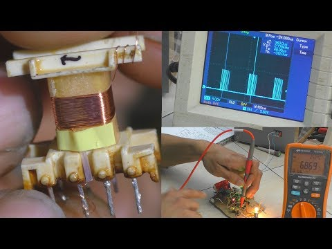 Fabrication d'une alimentation à découpage 230 Vac ► 12 V / 5 V - 5 Watts [convertisseur flyback]