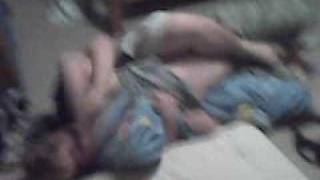 XXX Bed Wrestling