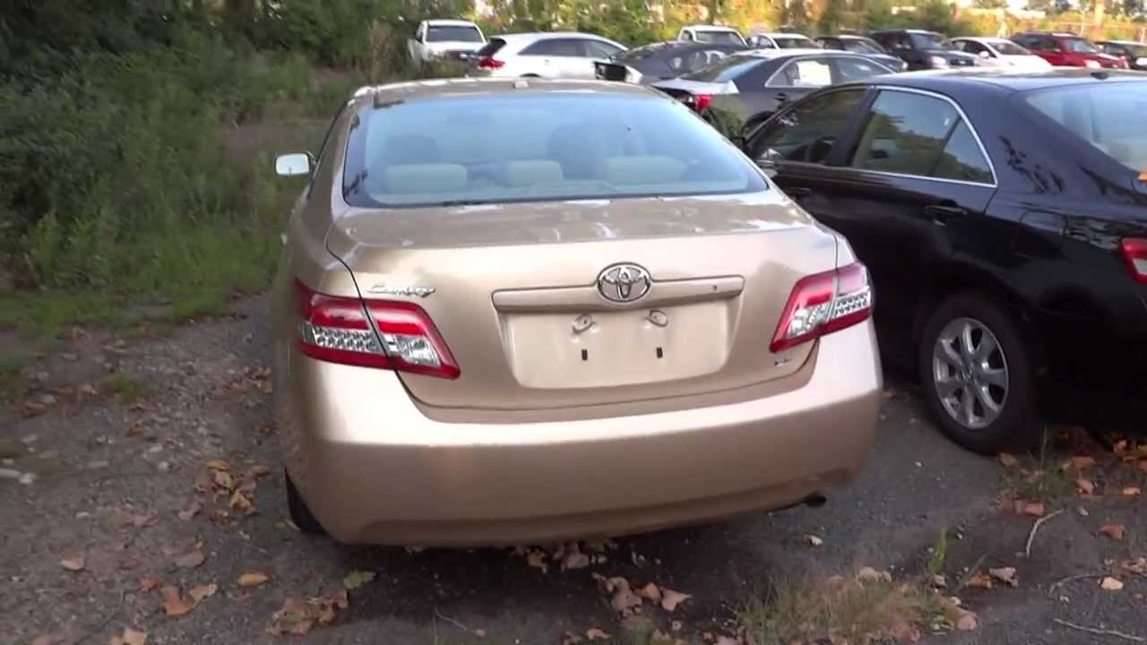 2010 toyota camry le 4 cyl quick tour engine overview youtube. Black Bedroom Furniture Sets. Home Design Ideas