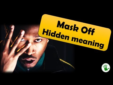 Mask off | Hidden meaning explained| you...