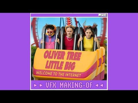 Oliver Tree & Little Big - The Internet (MUSIC VIDEO VFX BREAKDOWN) #Shorts