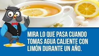 Mira Lo Que Pasa Cuando Tomas Agua Caliente Con Limón Durante Un Año.