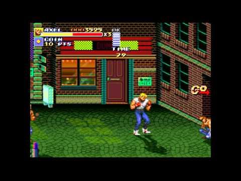 Streets Of Rage Remake XBOX 360 JTAG - 2011 Sega - Works !! HD quality