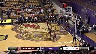 Highlights   JMU Men's Basketball vs Charleston