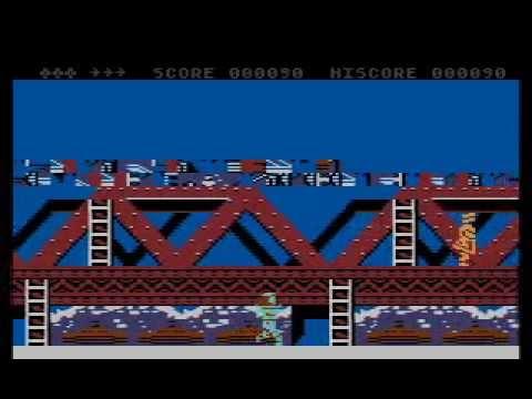 Green Beret - Atari 800XL/130XE