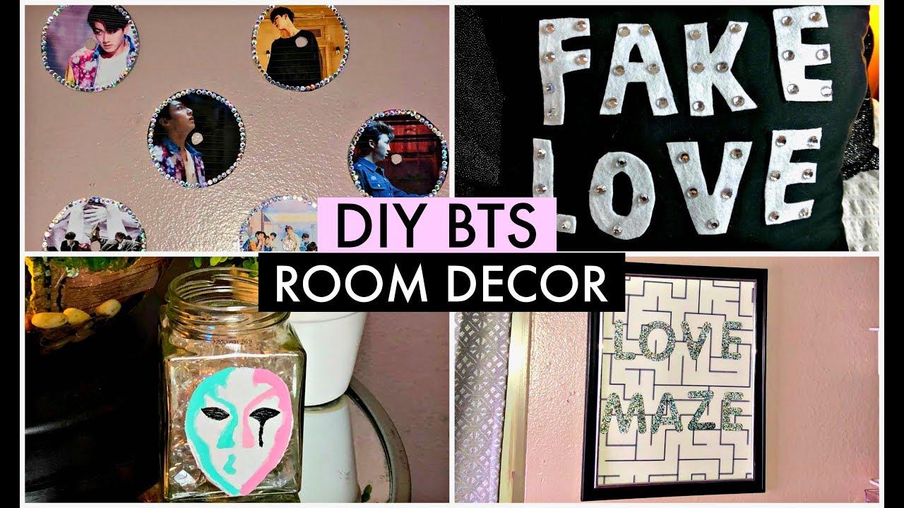 DIY KPOP BTS FAKE LOVE/LOVE YOURSELF: TEAR ROOM DECOR ... on Room Decor Bts id=28936