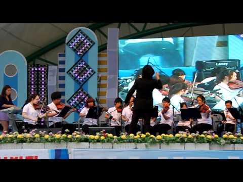 함께연주하는아이들 음악공모사업 지원 '여수 열린합주단' 지역행사 공연2