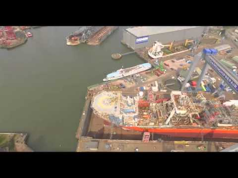 Petrojarl I at Damen Shipyard