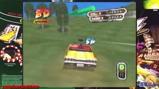Crazy Taxi 3 High Roller - Xbox - Gameplay - 1080p