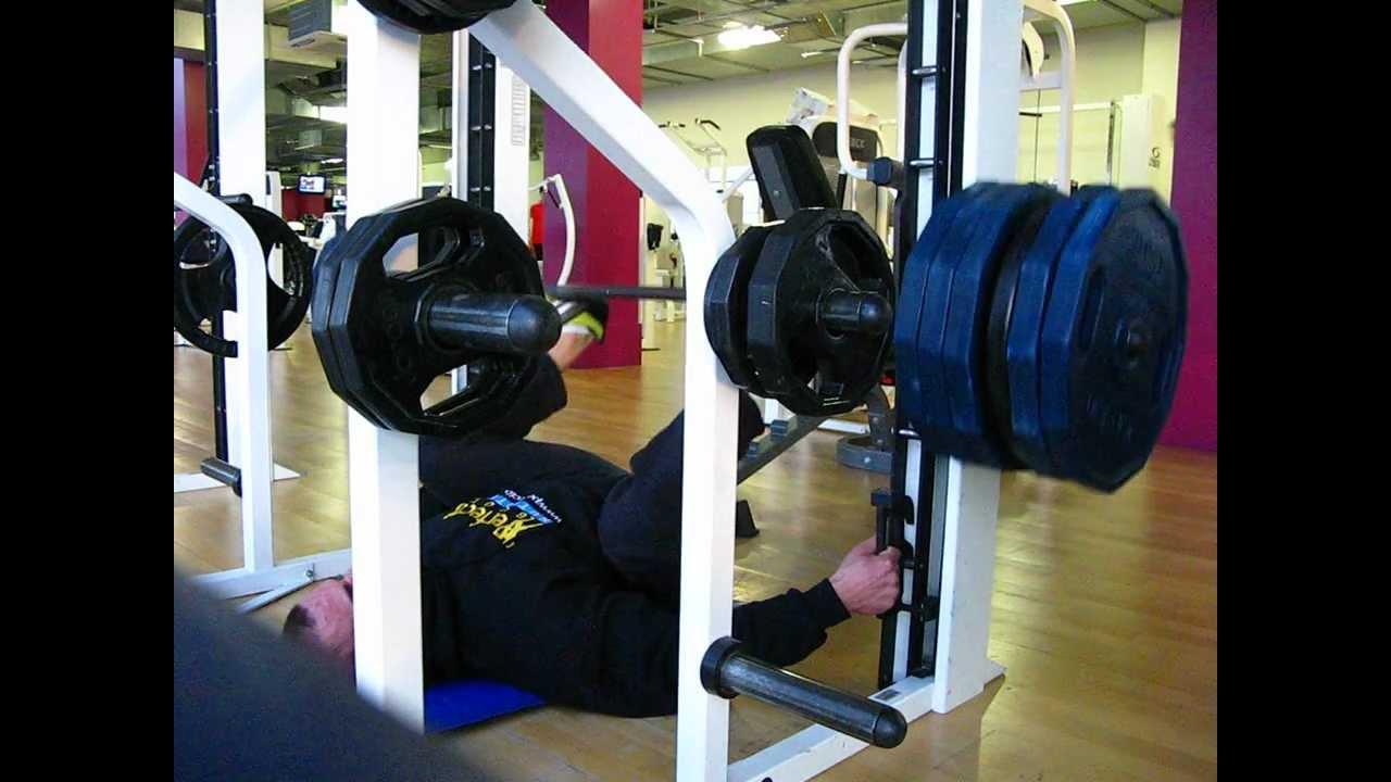 leg press with smith machine