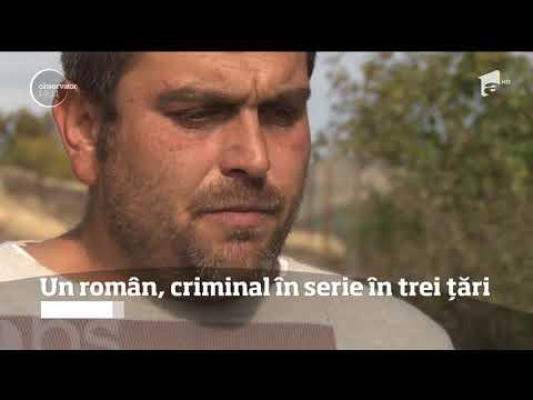 Un român, criminal în serie în trei țări