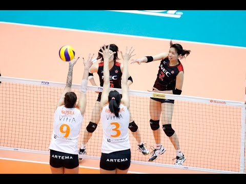 Eczacibasi vs NEC Red Rockets | 12 May 2017 | Day 3 | Club World Championship Women 2017