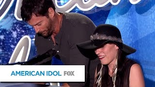 Kansas City Contestant Jams With Harry - AMERICAN IDOL SEASON XIV