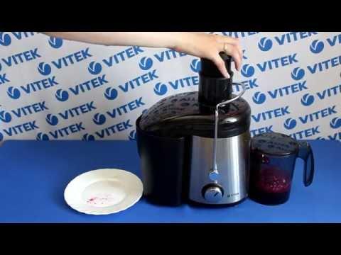 Рецепт приготовления свекольного сока в соковыжималке VITEK VT-1607 ST