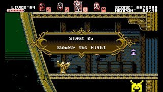 Let's Play Bloodstained: Curse of the Moon: Sunder the Night (5/8)