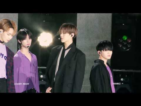 180512 드림콘서트 2018 Dream Concert - 세븐틴 SEVENTEEN - Intro + Thanks (HOSHI FOCUS)