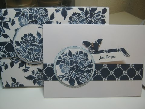 "4 Note Cards with Matching Box - Fits cards 4"" x 5.5"""