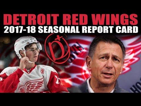 Detroit Red Wings Seasonal Report Card (2017-18)