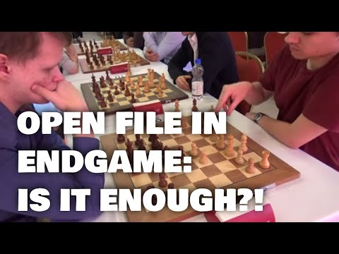 Sometimes open file earns a win, sometimes it doesn't | Svane - Artemiev |