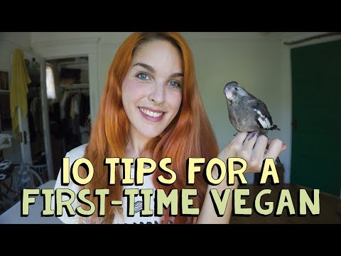 10 TIPS FOR A FIRST-TIME VEGAN + Give Away - 30 Days Being Vegan #3 | CHALLENGE