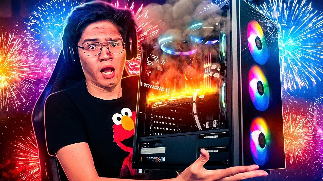 EXPLOTANDO LA PC EN DIRECTO | FIREWORKS MANIA