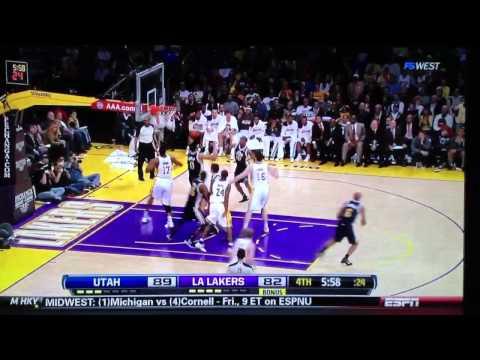 Kobe chokes again. Worst game in nba history