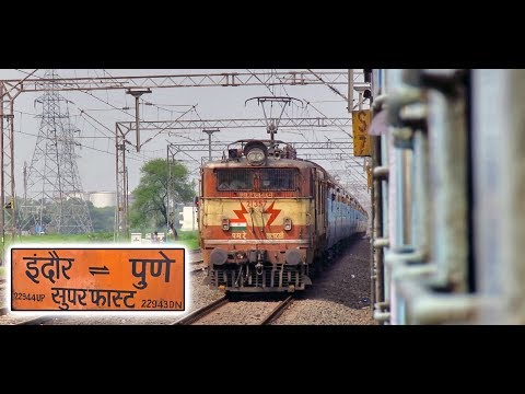 INDORE to PUNE : Highlights from a Complete Train Journey (Indian Railways)