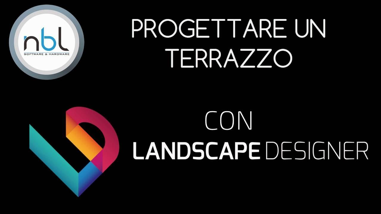 Progettare un terrazzo con NBL Landscape Designer - YouTube